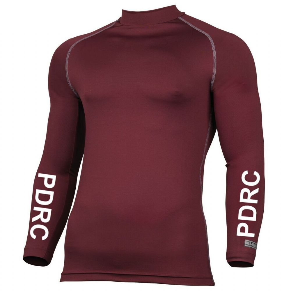 Childrens Penistone and District RC Burgundy Base Layers